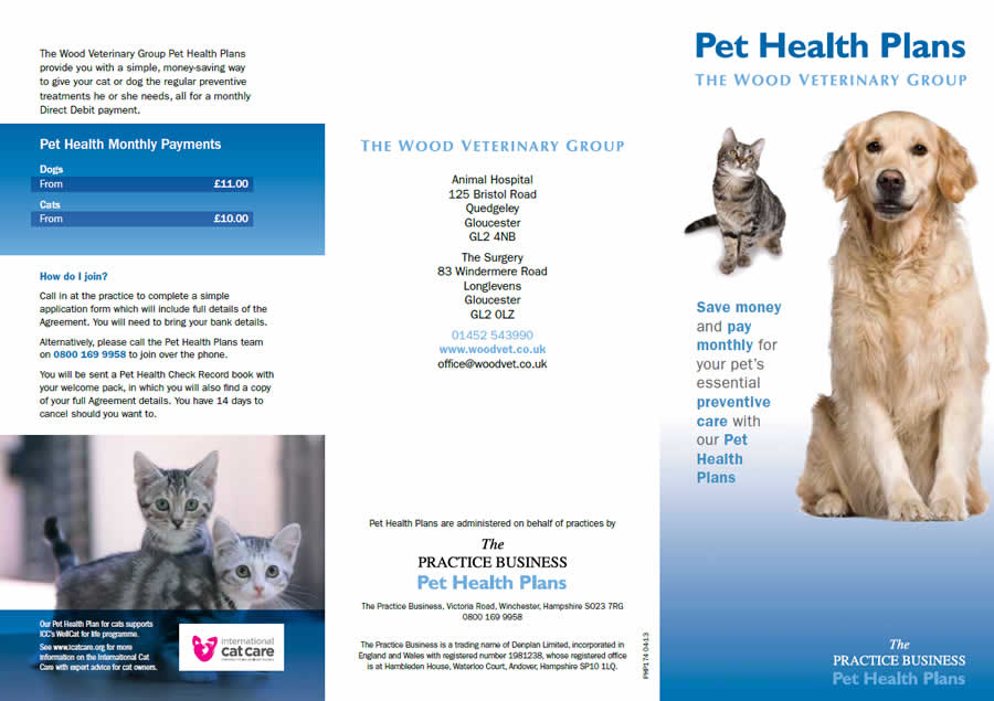 Pet Health Plan Wood Vets