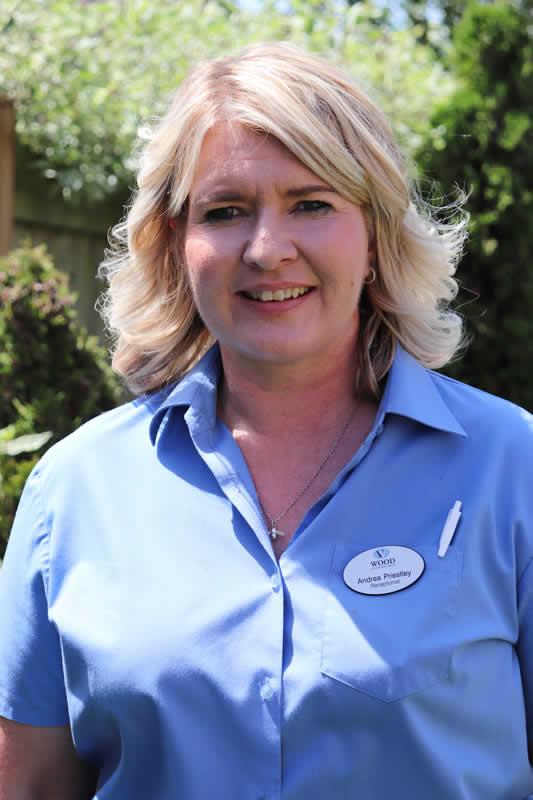 Andrea Priestley - Receptionist