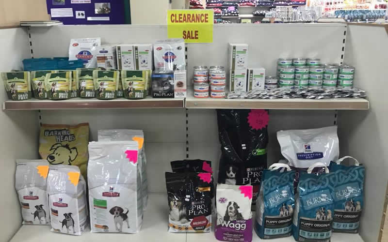 Quedgeley pet foods and beds